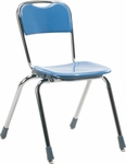 Telos Series Stack Chair with 16''H Seat - 18.38''W x 20.25''D x 27.88''H [N316-VCO]