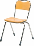 Telos Series Stack Chair with 18'' Seat Height [N318-VCO]