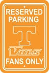 Tennessee Volunteers 12'' X 18'' Plastic Parking Sign [50265-FS-BSI]