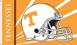 Tennessee Volunteers 3' X 5' Flag with Grommets - Helmet Design [95301-FS-BSI]