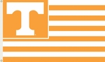 Tennessee Volunteers 3' X 5' Flag with Grommets - Striped USA Style [95101-FS-BSI]