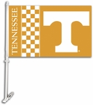 Tennessee Volunteers Car Flag with Wall Brackett [97101-FS-BSI]