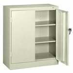 Tennsco Counter -High Storage Cabinet [TNN4218PY-FS-SP]