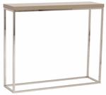 Teresa Console Table in Taupe [09803TPE-FS-ERS]