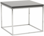 Teresa Side Table in Gray [09802GRY-FS-ERS]