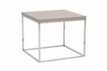 Teresa Side Table in Taupe [09802TPE-FS-ERS]