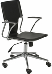 Terry Office Chair in Black [04401-FS-ERS]