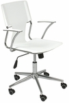 Terry Office Chair in White [04404-FS-ERS]
