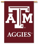 Texas A&M Aggies 2-Sided 28'' X 40'' Banner with Pole Sleeve [96130-FS-BSI]