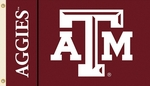 Texas A&M Aggies 3' X 5' Flag with Grommets [95130-FS-BSI]