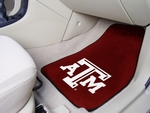 Texas A&M University Carpeted Car Mat [5327-FS-FAN]