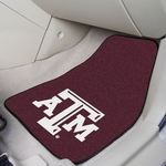 Texas A&M University Carpet Car Mat 2 Pc 18'' x 27'' [5327-FS-FAN]