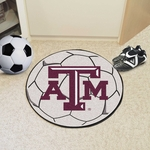 Texas A&M University Soccer Ball Mat 27'' Diameter [212-FS-FAN]