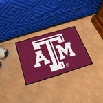 Texas A&M University Starter Rug,19'' x 30'' [214-FS-FAN]