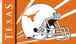 Texas Longhorns 3' X 5' Flag with Grommets - Helmet Design [95334-FS-BSI]