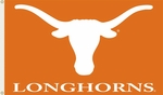 Texas Longhorns 3' X 5' Flag with Grommets - Mascot Design [95134-FS-BSI]