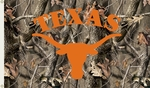 Texas Longhorns 3' X 5' Flag with Grommets - Realtree Camo Background [95434-FS-BSI]
