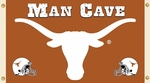 Texas Longhorns Man Cave 3' X 5' Flag with 4 Grommets [95634-FS-BSI]