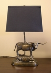 Texas Longhorns Tim Wolfe Lamp [TWLC-TEX-FS-TT]