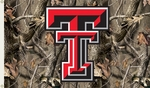 Texas Tech Red Raiders 3' X 5' Flag with Grommets - Realtree Camo Background [95427-FS-BSI]