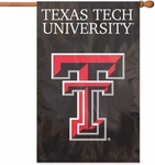 Texas Tech Red Raiders Applique Banner Flag [AFTXT-FS-PAI]