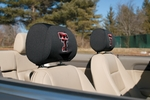 Texas Tech Red Raiders Headrest Covers-Set of 2 [82027-FS-BSI]