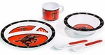 Texas Tech Red Raiders Kid's 5 Pc. Dish Set [31027-FS-BSI]
