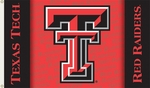 Texas Tech Red Raiders Red 3' X 5' Flag with Grommets [95227-FS-BSI]