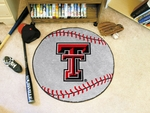 Texas Tech University Baseball Mat 27'' Diameter [3556-FS-FAN]