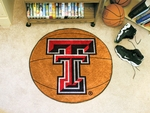 Texas Tech University Basketball Mat 27'' Diameter [3562-FS-FAN]