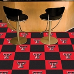 Texas Tech University Carpet Team Tiles - 18'' x 18'' Tiles - Set of 20 [8529-FS-FAN]