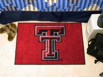 Texas Tech University Starter Rug,19'' x 30'' [3563-FS-FAN]
