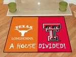 Texas-Texas Tech House Divided Rugs 34'' x 45'' [11097-FS-FAN]