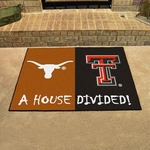 Texas-Texas Tech House Divided Mat 34'' x 45'' [11097-FS-FAN]