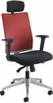 Tez™ Adjustable Height High Back Manager Chair with Headrest - Tabasco [7030TA-FS-SAF]