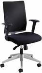 Tez™ High Back Manager Chair without Headrest - Black [7031BL-FS-SAF]