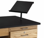 The LabHand Book and Laptop Stand - 12''W x 12''D [100994-DW]