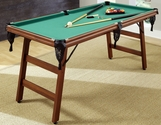 The Real Shooter 6-Foot Pool Table
