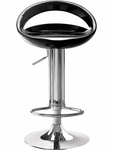 Tickle Swivel Barstool in Black Finish [300021-FS-ZUO]