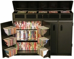 Top Load Media Cabinet [2362-FS-VH]