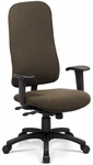 Top Task Chair with Director Backrest - Grade A [TP-D-X-GRDA-FS-ADI]