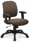 Top Task Chair with Low Backrest - Grade B [TP-L-T-GRDB-FS-ADI]