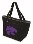 Topanga Cooler Tote - Black- Kansas State University Digital Print [619-00-175-254-0-FS-PNT]