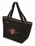 Topanga Cooler Tote - Black- Texas Tech University Digital Print [619-00-175-574-0-FS-PNT]