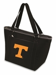 Topanga Cooler Tote - Black- University of Tennessee Digital Print [619-00-175-554-0-FS-PNT]