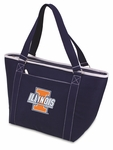 Topanga Cooler Tote - Navy- University of Illinois Digital Print [619-00-138-214-0-FS-PNT]