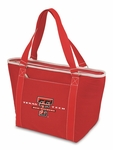 Topanga Cooler Tote - Red - Texas Tech University Digital Print [619-00-100-574-0-FS-PNT]