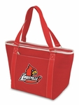 Topanga Cooler Tote - Red - University of Louisville Digital Print [619-00-100-304-0-FS-PNT]