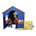 Tot Town Playhouse - Primary Colors [902-803-SPEI]