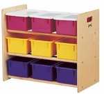 Tote Storage Rack - 9 Tray [0710JC-JON]